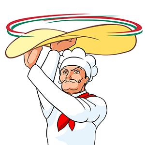 ピザ職人-男性